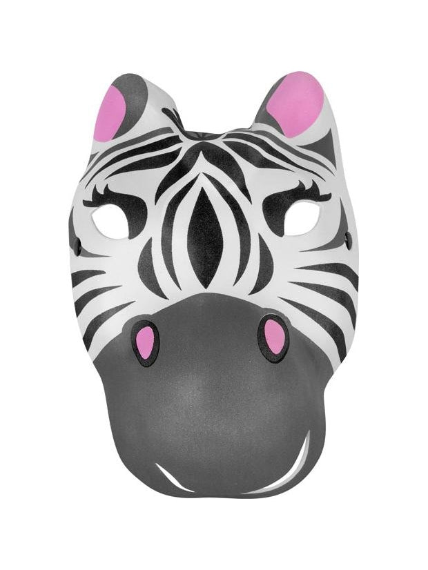 Foam Zebra Mask-COSTUMEISH