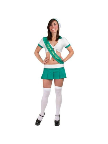 Adult Sexy Cookie Girl Scout Costume-COSTUMEISH