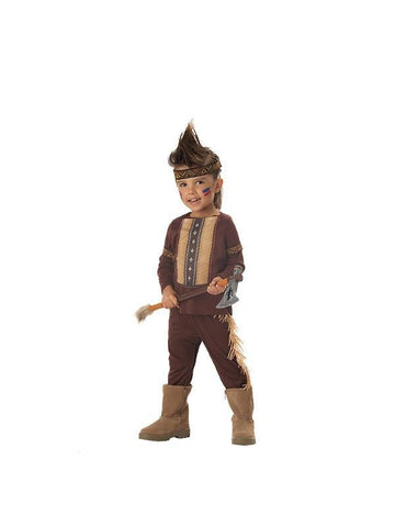 Childs Indian Warrior Costume-COSTUMEISH