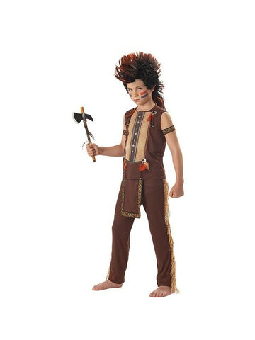 Child's Warrior Indian Costume-COSTUMEISH