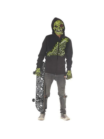 Preteen Green Bone Chiller Costume-COSTUMEISH