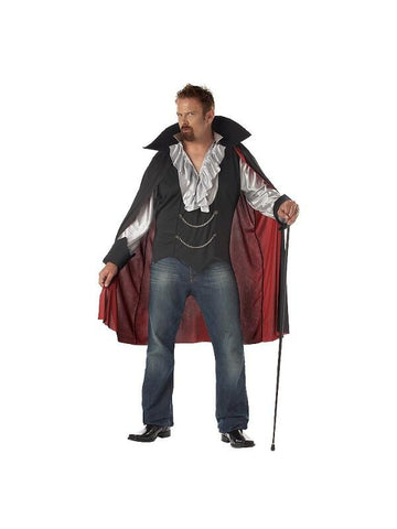 Adult Plus Size Vampire Costume-COSTUMEISH