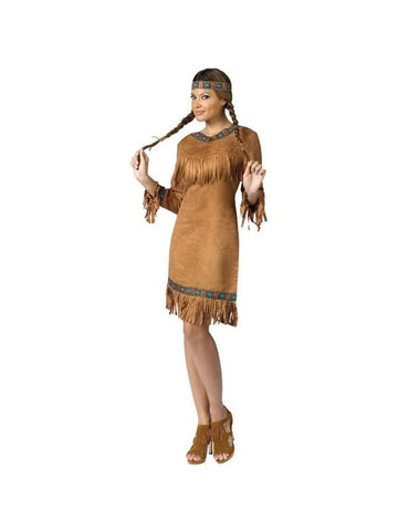 Adult Native American Cutie Costume-COSTUMEISH