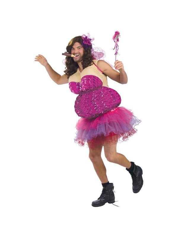 Adult Funny Male Tooth Fairy Costume-COSTUMEISH