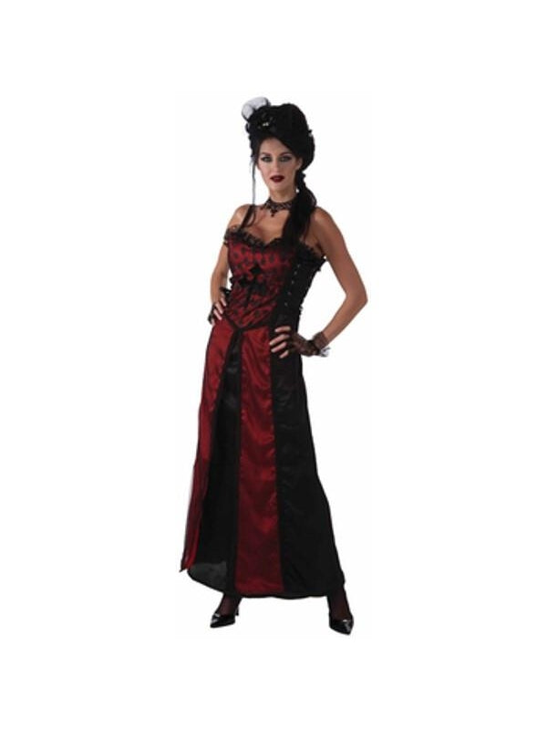 Adult Gothic Mistress Costume-COSTUMEISH