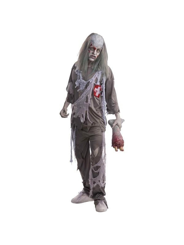 "Adult ""Doctor Dead"" Zombie Costume-COSTUMEISH"