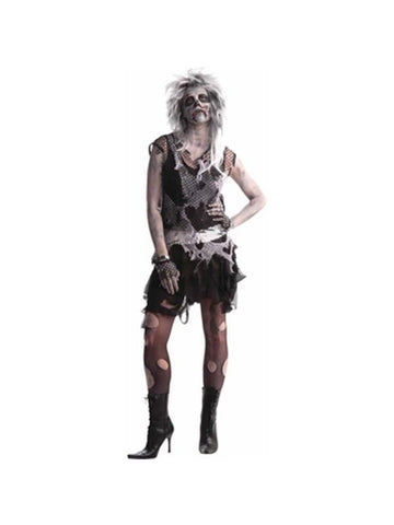 Adult Womens Zombie Punk Costume