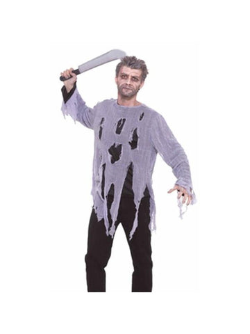 Adult Plain Zombie Shirt Costume
