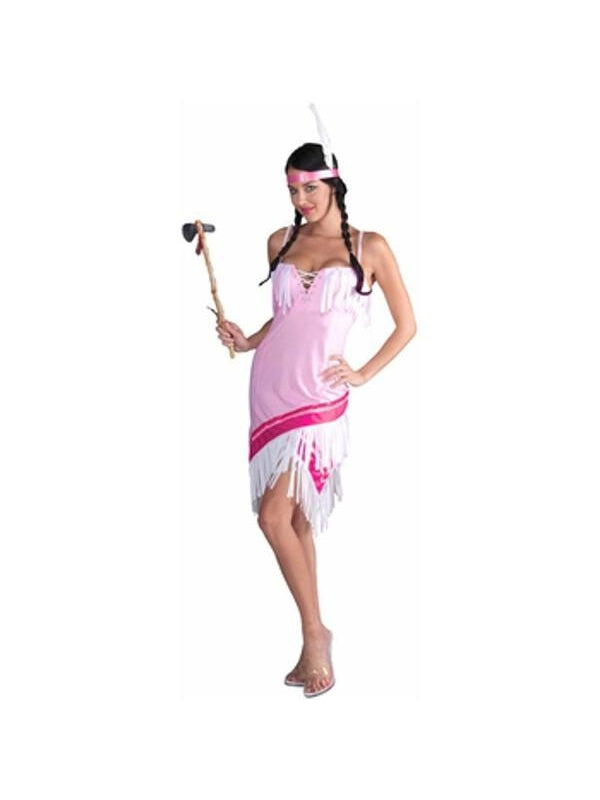 Adult Prairie Rose Indian Princess Costume-COSTUMEISH