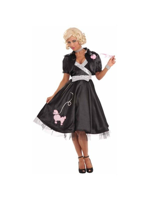 Adult Classy 50's Poodle Skirt-COSTUMEISH