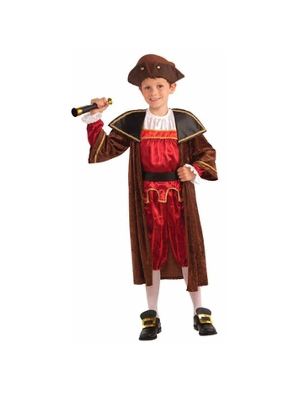 Toddler Christopher Columbus Costume-COSTUMEISH