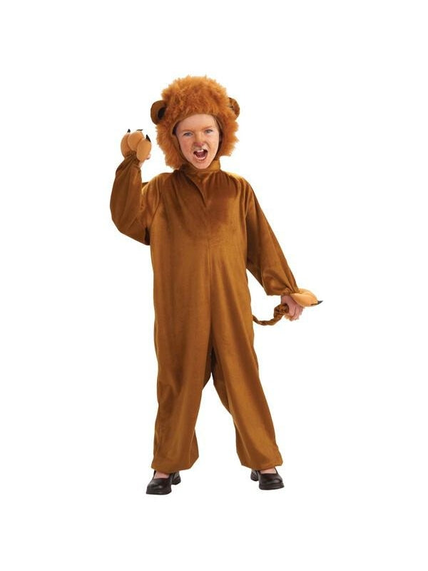 Toddler Fuzzy Lion Costume-COSTUMEISH