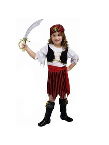 Toddler Pirate Girl Costume