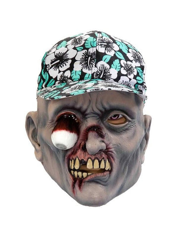 Adult Scary Tourist Zombie Mask