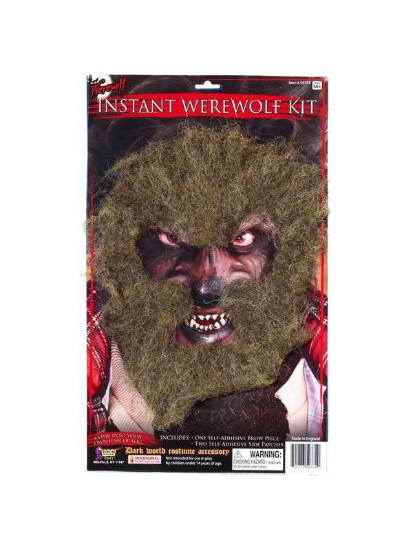 Adult Easy Werewolf Costume Kit-COSTUMEISH