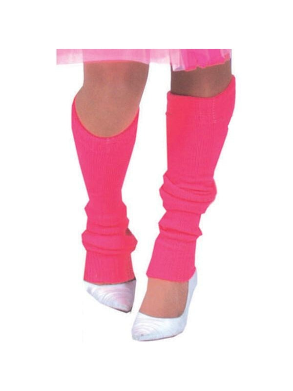 Adult Fabulous 80's Silver Leg Warmers-COSTUMEISH