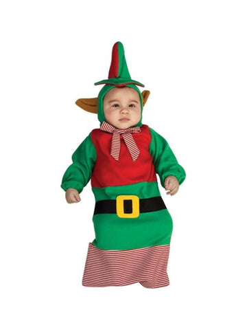 Baby Bunting Elf Costume-COSTUMEISH