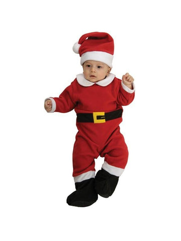 Baby Fleece Santa Costume