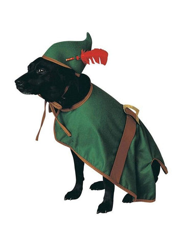 Doggie Robin Hood Pet Costume-COSTUMEISH