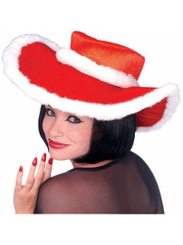 Santa Cowgirl Hat-COSTUMEISH