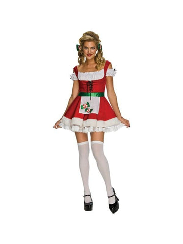 Adult Sexy Christmas Candy Costume-COSTUMEISH