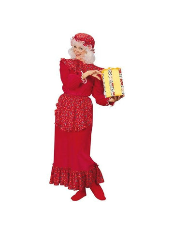 Adult Old Mrs. Claus Costume