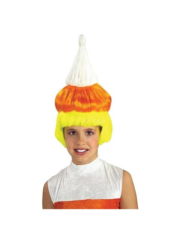 Child's Candy Corn Wig