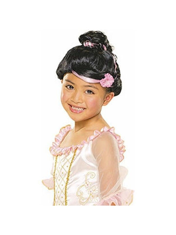 Black Sophisticated Princess Wig-COSTUMEISH