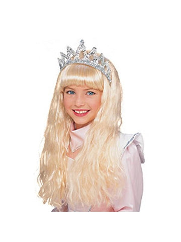 Blonde Sleeping Beauty Costume Wig