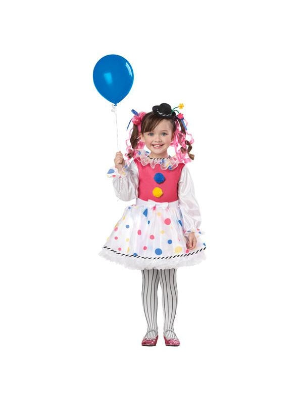 Toddler Bubbles The Clown Costume-COSTUMEISH