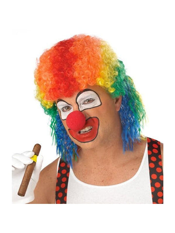 Clown Mullet Wig-COSTUMEISH