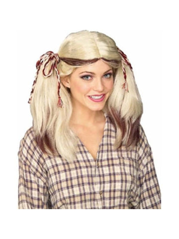 Blonde Farm Girl Wig