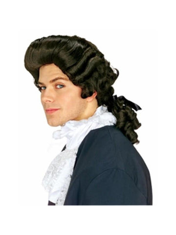 Men's Brown Colonial Wig-COSTUMEISH
