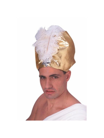 Giant Gold Lame Turban-COSTUMEISH