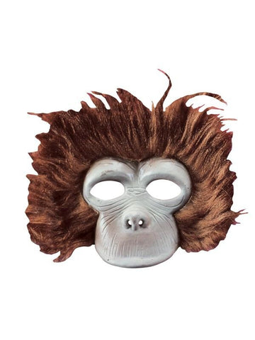 Child's Plush Chimp Mask-COSTUMEISH