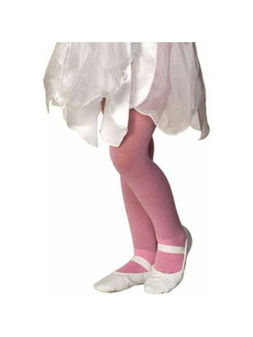 Child's Pink Sparkle Tights