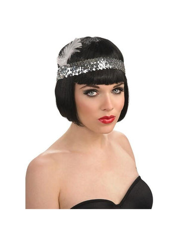 Sequin Flapper Headpiece
