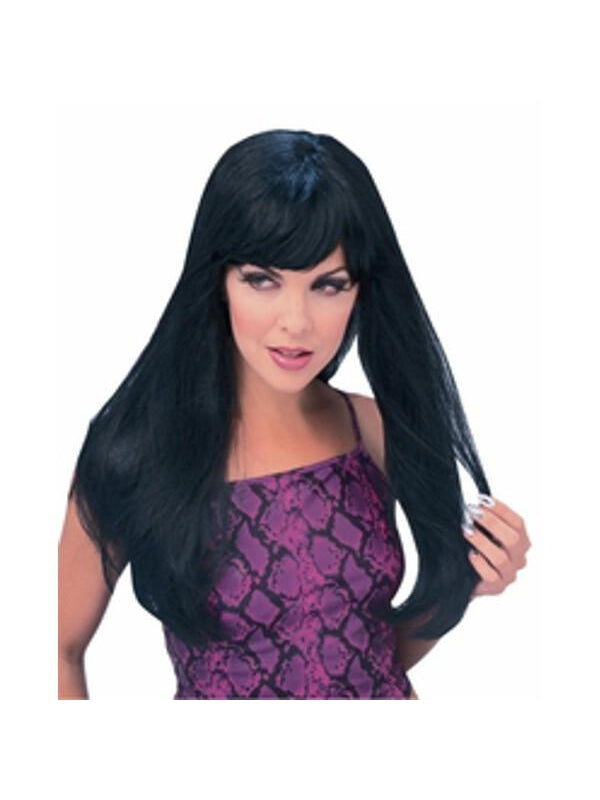 Black Glamour Wig-COSTUMEISH
