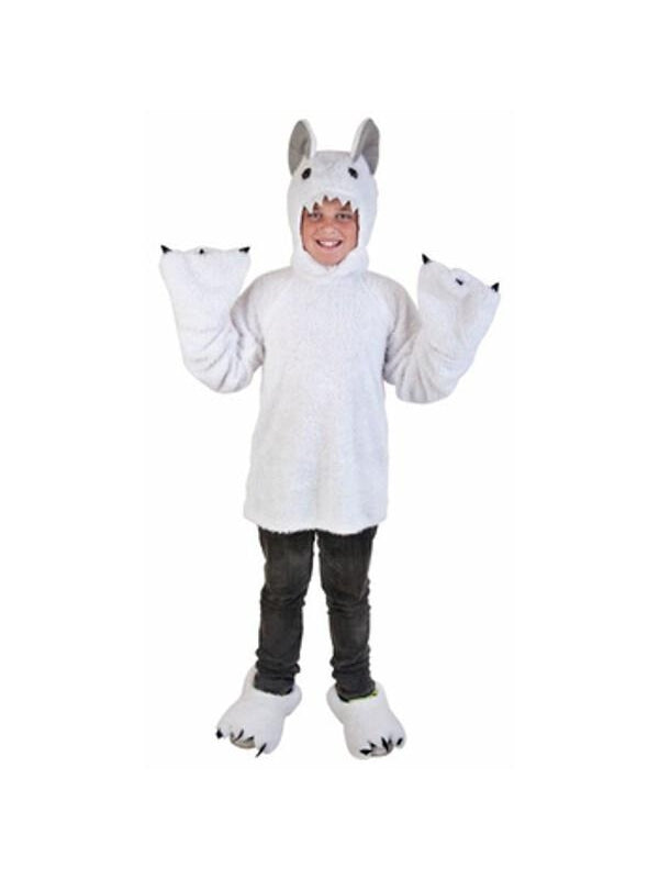 Child Great White Yeti Costume-COSTUMEISH