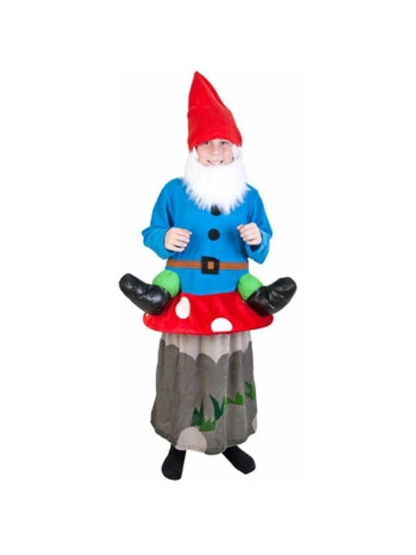 Child Gnome Mushroom Costume