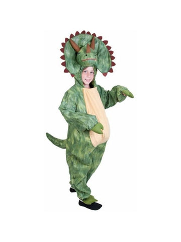 Child Triceratops Dinosaur Costume-COSTUMEISH