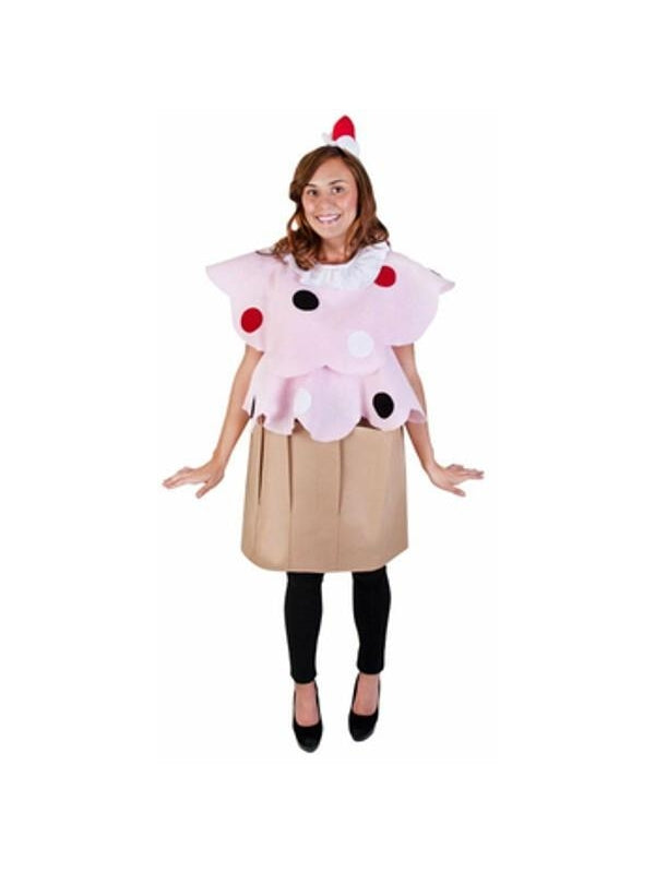 Adult Cupcake Costume-COSTUMEISH