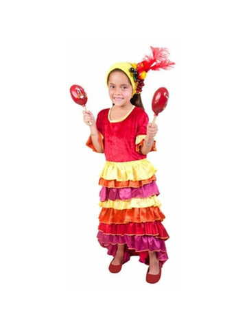 Child Cha Cha Dancer Costume-COSTUMEISH