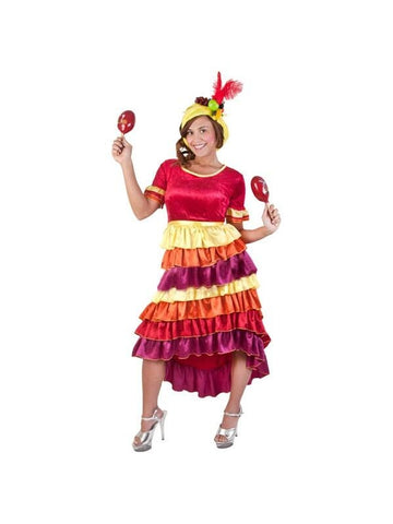 Adult Cha Cha Dancer Costume-COSTUMEISH