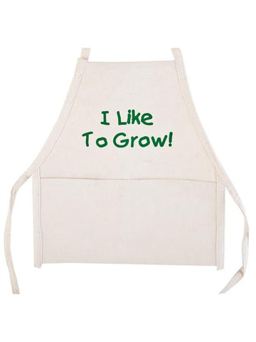 "Toddler ""I Like To Grow"" Apron Costume Accessory"