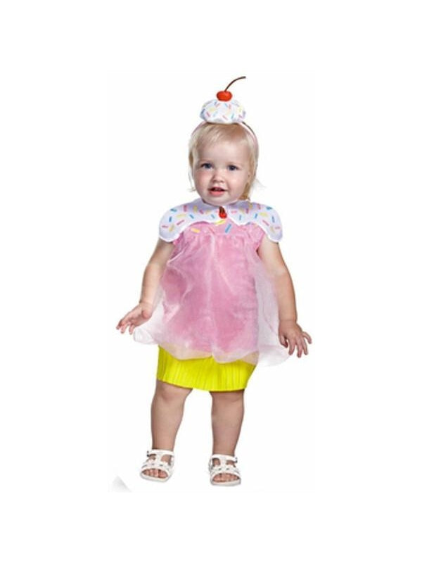 Toddler Cutie Cupcake Costume-COSTUMEISH