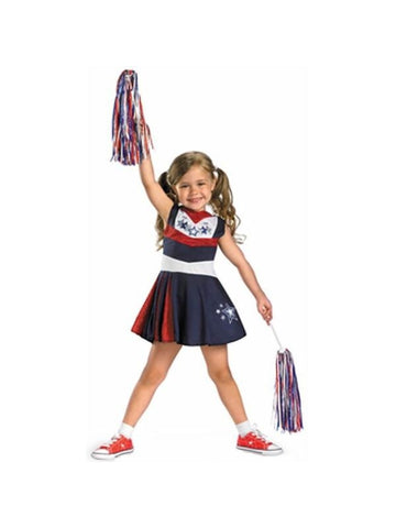 Child's Superstar Cheerleader Costume-COSTUMEISH