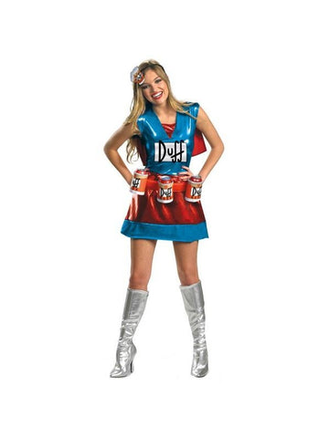Adult Deluxe Duffwoman Costume