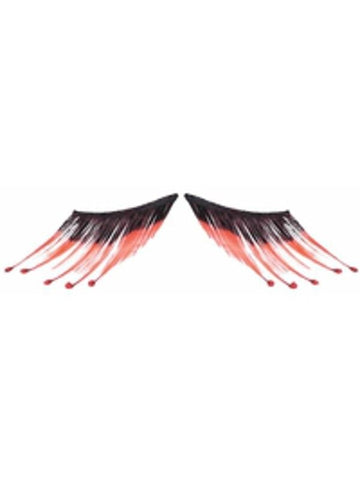 Blood Droplet Fake Eyelashes-COSTUMEISH