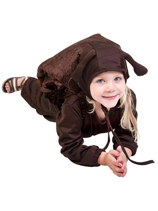 Toddler Brown Snail Costume-COSTUMEISH